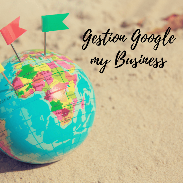 Gestion google my business