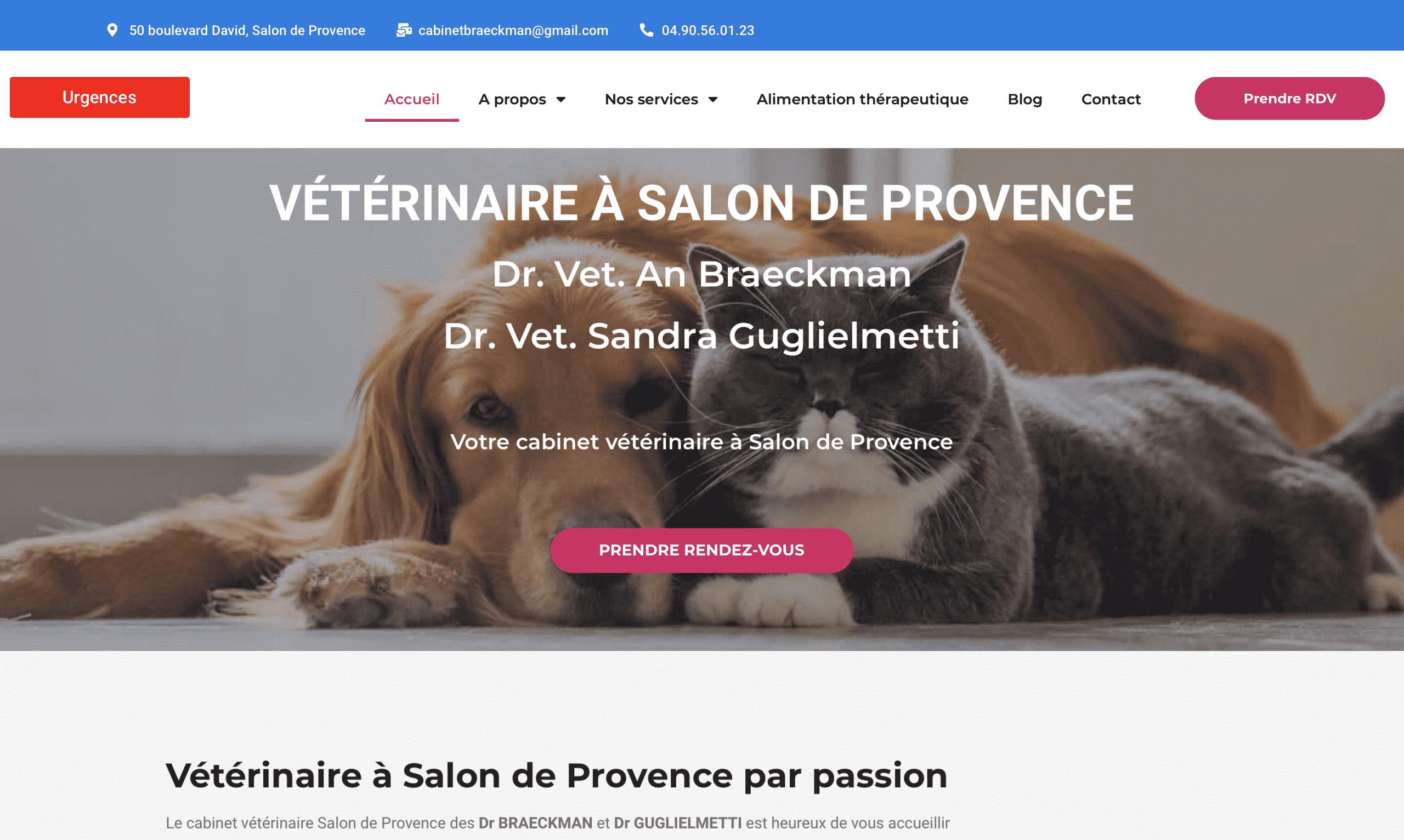 création site web provence